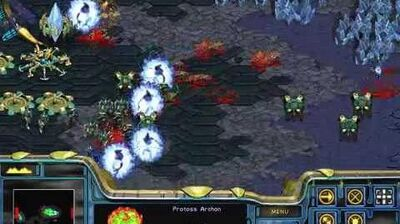 Starcraft Brood War - Protoss Campaign Mission 8 - Countdown Ending Walkthough Lets Play
