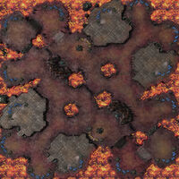 MoltenCrater SC2 Map1