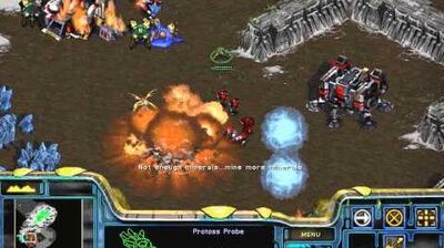 Starcraft Brood War - Protoss Campaign Mission 4 - The Quest for Uraj Walkthough Lets Play