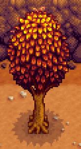 Oak Tree in Fall