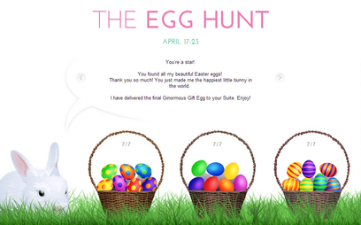 The egg hunt 2014