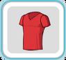 RedV-neckTshirt