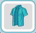 SeaGreenUnbuttonedShirt
