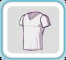 WhiteV-neckTshirt