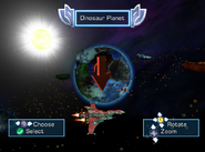 03 Star Fox Adventures Lylat System Map
