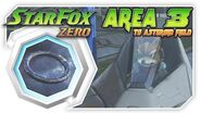 Star Fox Zero - Area 3 To Asteroid Field! Wii U Gameplay Walkthough With GamePad