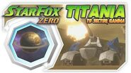 Star Fox Zero - Titania To Sector Gamma! Wii U Gameplay Walkthough With GamePad 1