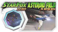 Star Fox Zero - Asteroid Field To Sector Beta! Wii U Gameplay Walkthough With GamePad