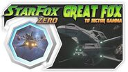Star Fox Zero - Great Fox To Sector Gamma! Wii U Gameplay Walkthough With GamePad