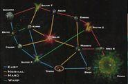 Complete lylat map