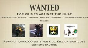 Wanted... Dead or Alive
