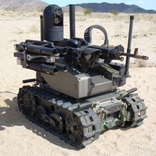 Light-combat/patrol robot
