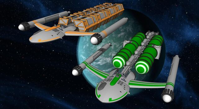 File:Star frontiers freighter and tanker render by jaythurman-d7f6lpf.jpg
