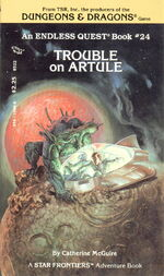 Trouble on Artule cover - 00