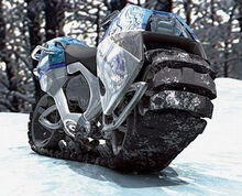 Tracked-motorcycle