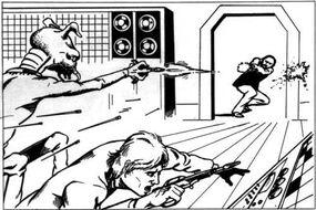 PGC-1V Laser Pistol