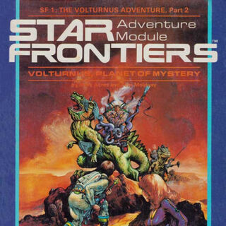 Ul-Mor on the cover of adventure module <a href=