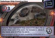 Sabotage Ship Construction