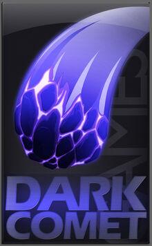 Dark comet