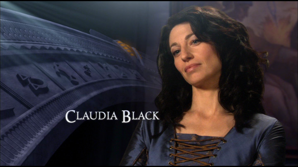 Claudia Black tied the knot with her fiancee Jamie in 2004