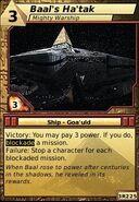 Baal's Ha'tak (Mighty Warship)