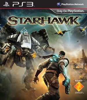 Starhawk coverart