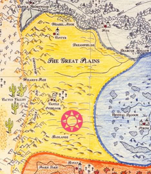 Great Plains map