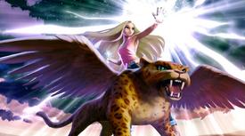 Kara with Lyra