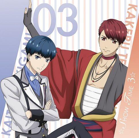 File:Stamu Musical Song Series SHOW TIME 3 Tengenji Kakeru & Tsukigami Kaito.jpg