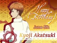 Akatsuki Birthday Card