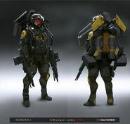 AIM Jetpack Trooper