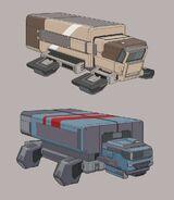 NEUV Gravtrucks Cargo