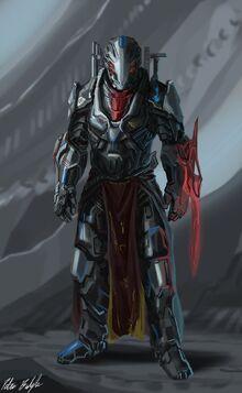 Fists of Sol Vexar Sword