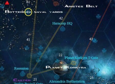 Medusa sell locations Planet Korkyra and Rotterdam Naval Yards