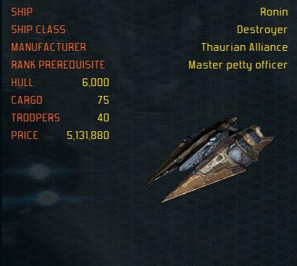 Ronin ship