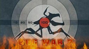 Logo de la Segunda Guerra contra los Bichos