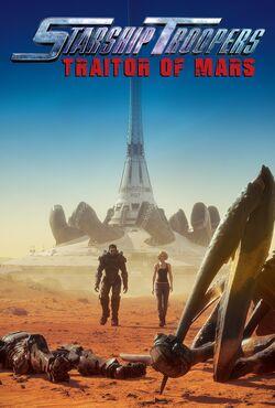 Starship Troopers Traidor de Marte poster