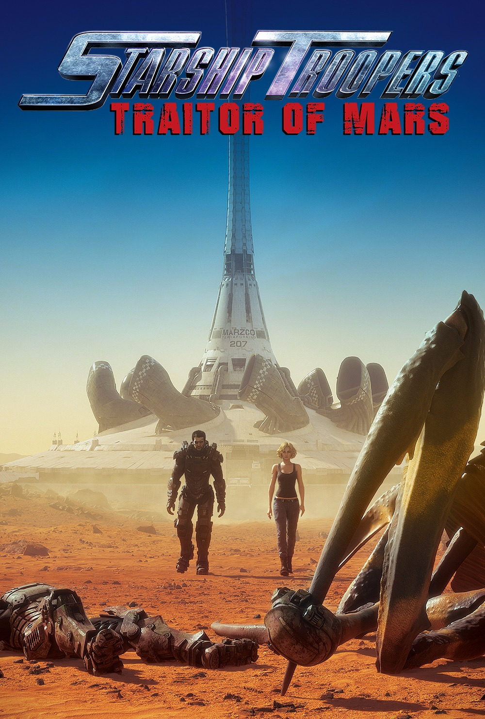 Download Film Starship Troopers Traitor of Mars (2017) WEBRip Subtitle Indonesia