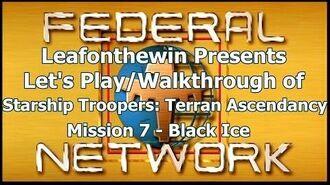 Walkthrough - Mission 7- Black Ice