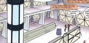 Enterprise A cargo bay DC Comics