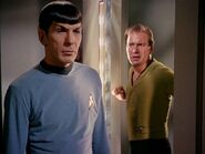 Spock and Kirk (mirror)