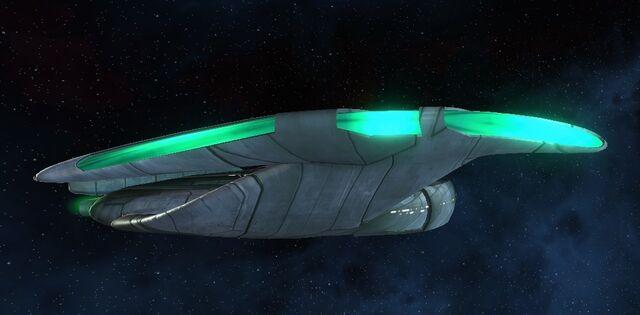 File:Romulan bird-of-prey (25th century) side.jpg