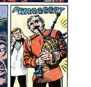 Bagpipes DC Comics