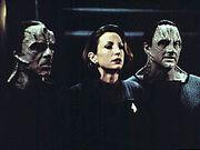 Damar, Kira and Garak