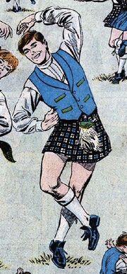Scotty kilt DC Comics