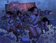 Tribbles chase Klingons