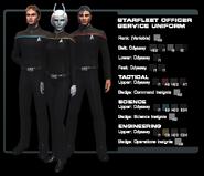 SF officer service uniform