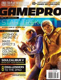 New Star Trek is GamePro's Next Cover