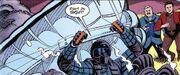 Kirk orbital skydiving DC Comics