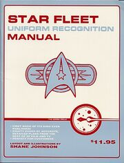 Star Fleet Uniform Recognition Manual cover